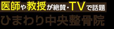 八潮の整体なら「ひまわり中央整骨院」 ロゴ